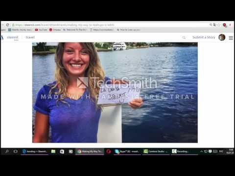 Steemit(Steem) Регистрация. Фото. Видео.Пост. Заработок без вложений. Как сделать пост.
