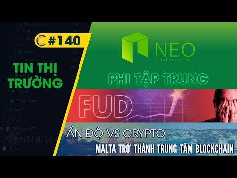 #140 – Neo tiến tới phi tập trung / Crypto FUD / Ấn Độ vs. Crypto / Malta – trung tâm blockchain