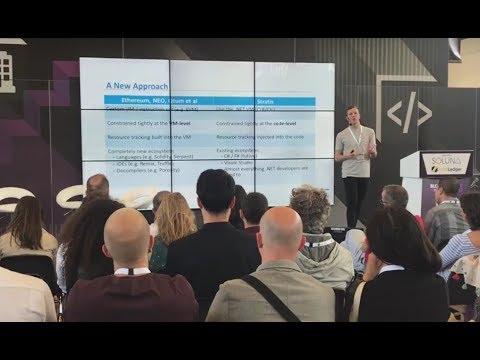 Stratis Platform | Presentation by Jordan Andrews – Blockchain Expo Amsterdam