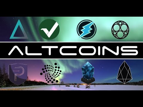 Altcoins on My Watchlist in 2018