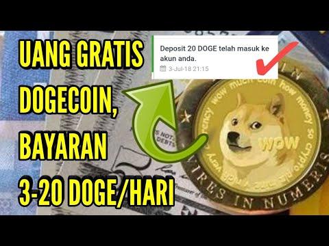 APLIKASI PENGHASIL UANG DOGECOIN GRATIS 2018, UP 3-20 DOGE/HARI | PAYMENT PROOF