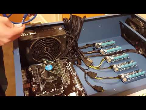 Building a 1080ti Zotac Custom Cryptocurrency Foleum Miner