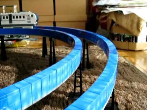 Lego Monorail of Double Track