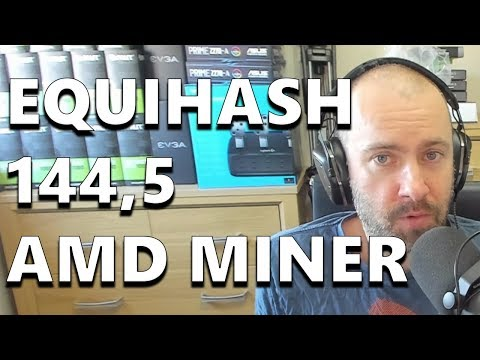 Equihash 144,5 AMD Miner Now Available (LOLMiner)