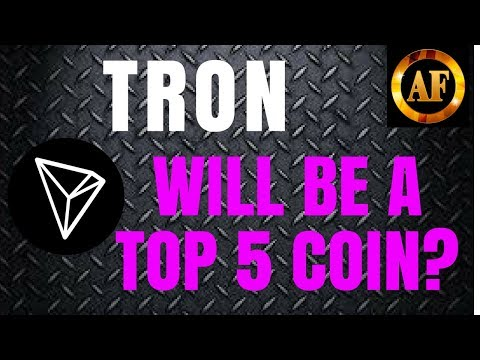 Tron (TRX) – WILL BE A TOP 5 COIN? – The Future Looks Bright!