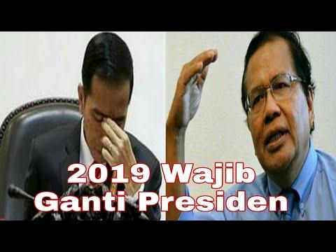 Rizal Ramli !! Ada Indikasi Pemerintah Jokowi Tidak Sampai 2019, Rizal Ingin Secara Demokrasi 2019