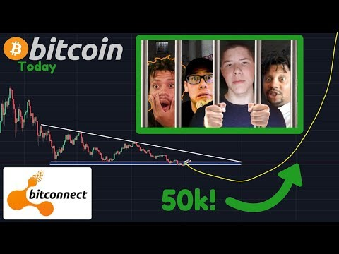 Bitcoin To $50k Soon? | BIG Bitconnect NEWS!! [Bitcoin Today]