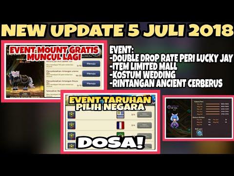 NEW UPDATE 5 JULI! EVENT DAPETIN MOUNT GRATIS ADA LAGI DAN EVENT TARUHAN PIALA DUNIA   Dragon Nest M