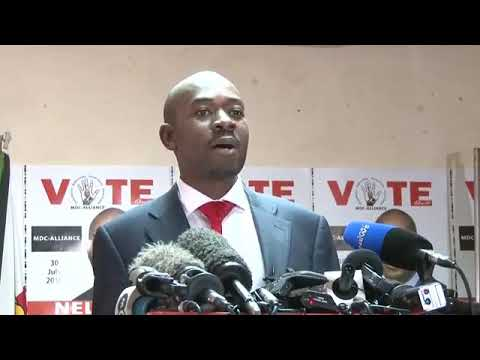 Nelson Chamisa's Statement On The July 30 Elections, Conduct of Zec