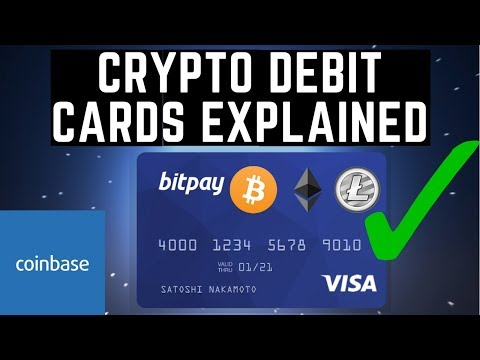 Cryptocurrency Debit Cards EXPLAINED!