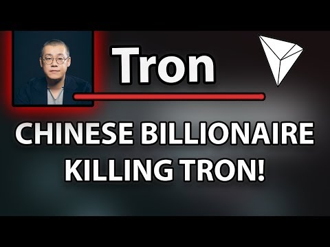 MUST WATCH! Tron (TRX) HUGE FUD BY CHINESE BILLIONAIRE LI XIAOLAI!