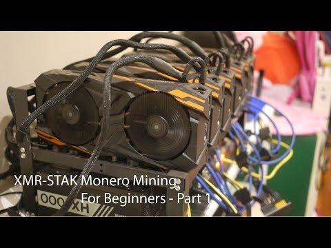 Configure Monero Mining with XMR-Stak on Vega56 – Part 1