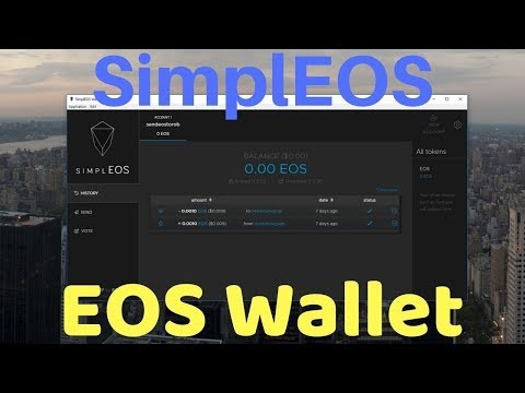 SimplEOS Wallet Setup – EOS Wallet By EOSRio