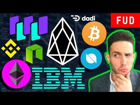 EOS RAM-gate! Ethereum Fees, Status x OMG, Monaco buys Crypto.com, Waltonchain NEO Binance ONT IBM