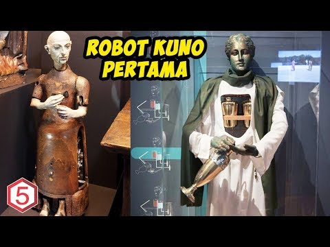 ROBOT DAN COMPUTER TERNYATA SUDAH ADA SEJAK ZAMAN PURBA