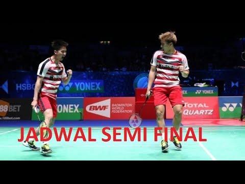 JADWAL SEMI FINAL INDONESIA OPEN 2018 | 7 JULI 2018 | LIVE TV ADA