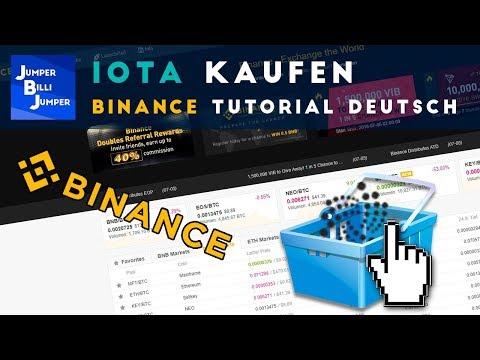 IOTA kaufen auf Binance – Binance Tutorial deutsch