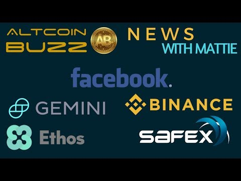Billion $ Binance? Malta, South Korea, Gemini & NYSE, Facebook, SAFEX, Ethos – Today's Crypto News