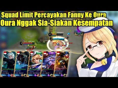 Squad Limit Percayakan Fanny Ke Oura, Oura Nggak Sia-Siakan Kesempatan – Mobile Legends