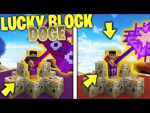 Minecraft ITA | SFIDA CON I LUCKY BLOCK DOGE – i Blocchi del Cane DOGE!