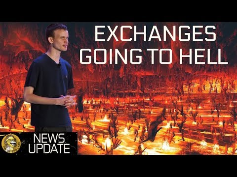 "Ethereum Update, Vitalik ""Exchanges Can Burn in Hell"" & Bitmain Monster – BTC & Cryptocurrency News"