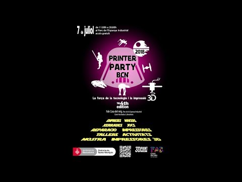 Printer Party BCN 2018