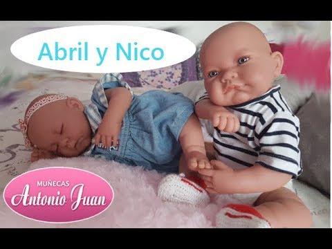 Luna y Nico, muñecas de Antonio Juan / Ada Sweet