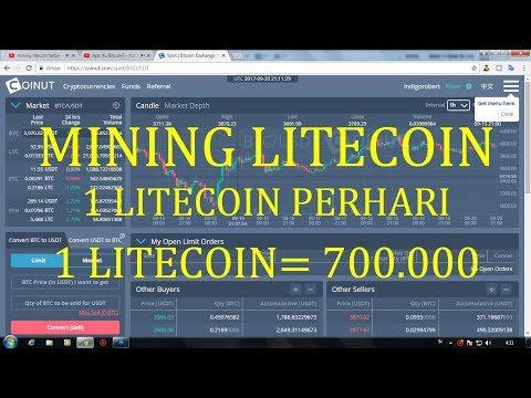 mining litecoin 1 litecoin perhari
