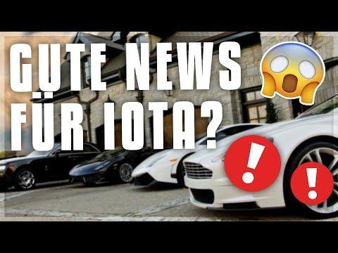 GUTE NEWS FÜR IOTA! NEUE PARTNERSCHAFT?! Kryptowährungen deutsch