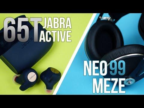 Słuchawki Dokanałowe vs Nauszne | Jabra Active 65t vs Meze 99 Neo | TEST