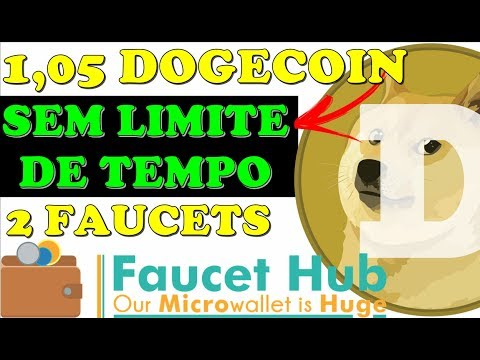 FAUCET DOGECOIN ILIMITADO – 1,05 DOGECOIN DIRETO NA CARTEIRA FAUCETHUB