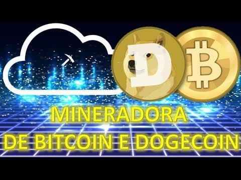 Mineradora de Bitcoin e Dogecoin com Prova de Pagamento em 2 dias sem investir nada!