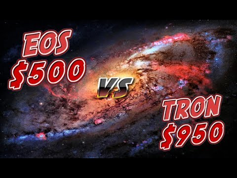 EOS $500 VS TRON $965 WHICH WILL MAKE YOU A MILLIONAIRE?