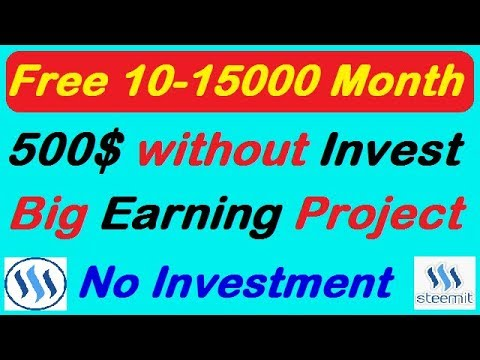 STEEMIT- Free Earn 250$-500$ Month, Steemit tutorial,What is Steem,Steem Dollars,Steemit Full Review