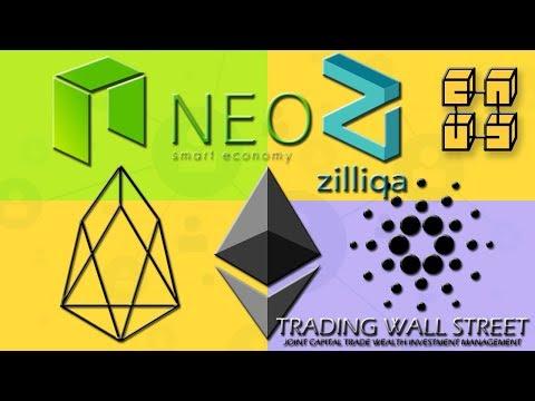 #ETHEREUM #EOS #NEO #CARDANO #ZILLIQA #CRYPTOTRADING LUNDI 9 JUILLET 2018 #DAPPS