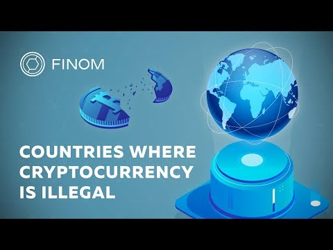 COUNTRIES WHERE CRYPTOCURRENCY IS ILLEGAL