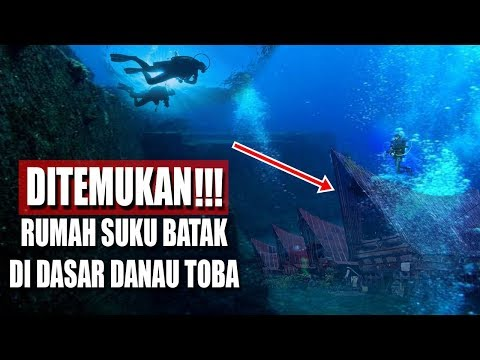 BIKIN GEGER!! Ternyata Di Dasar Danau Toba Ada Rumah Adat Suku BATAK-NEWS 12