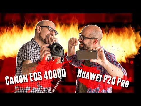 Huawei P20 Pro Vs. Canon EOS 4000D: el móvil más potente contra la réflex más barata
