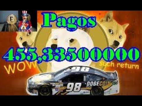 Faucet Paga 455,33500000 Dogecoin 2018