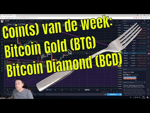 Coin van de week: Bitcoin Gold (BTG )& Bitcoin Diamond (BCD)