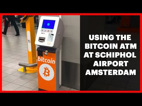 Bitcoin ATM – Buy Cryptocurrency At Amsterdam Schiphol Airport