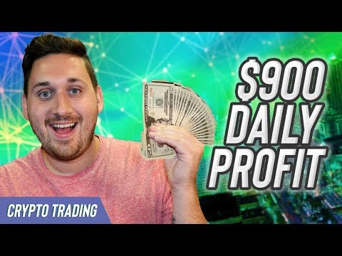 $900 Profit in 10 Hours! – CryptoCurrency Day Trading – Crypto Swing Trading How To