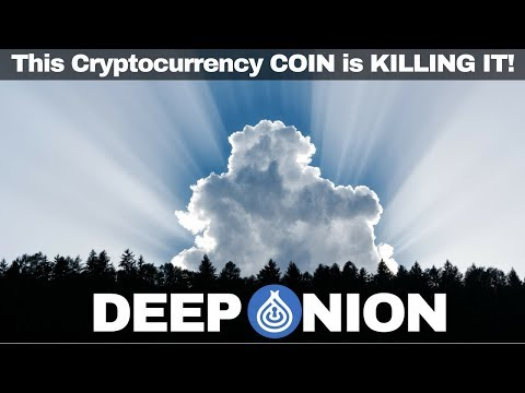 THIS CRYPTOCURRENCY PROJECT IS KILLING IT! – DEEP ONION $ONION
