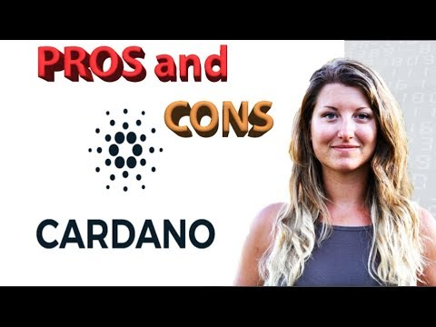 Cardano: Pros and Cons