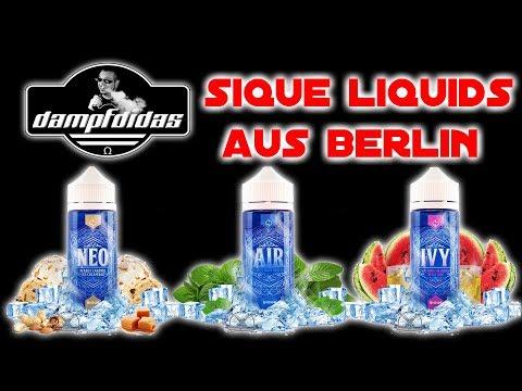 Sique Liquids NEO AIR IVY – Mein Favorite Liquid der Intersteam Berlin!