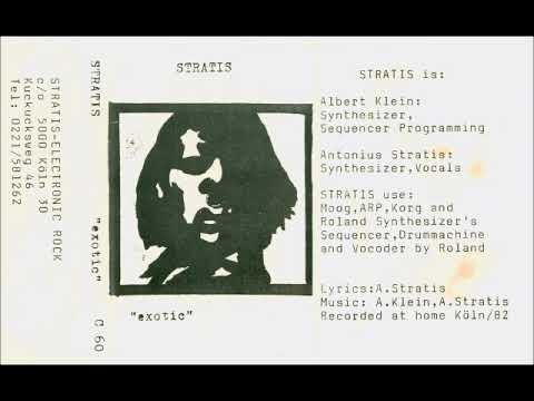 Stratis – Exotic (Germany 1982, Minimal Synth/NDW/Synth-Pop) – Full Cassette