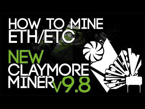 How To Mine Ethereum ETH/ETC, NEW Claymore Miner V9.8 WINDOWS/LINUX