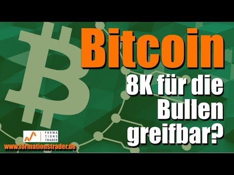 Bitcoin: 8K für die Bullen greifbar?