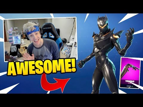 NINJA REACTS TO *NEW* OBLIVION SKIN & TERMINUS GLIDER! – Fortnite Funny Fails & WTF Moments #55