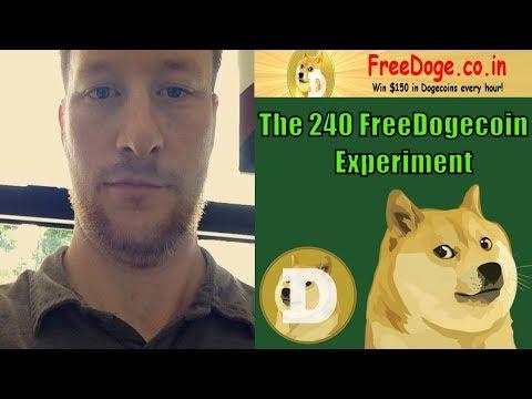 FreeDogecoin Journey   241 DogeCoin Experiment